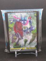 Pokemon center JAPAN - Zoroark & Greninja GX Card Deck Shields (64 Sleeves)