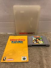 Diddy Kong Racing N64 w/ Manual & Plastic Case Tested Retro Rare Htf Game