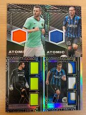 Panini Obsidian Soccer Inter Milano x 4 Card Includes Ranocchia Triple Patch /10