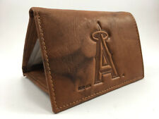 Anaheim Angels Trifold Gift Set Embossed Leather MLB Team Wallet Key Ring NIP