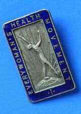 More details for everywoman's health movement badge, fattorini & sons [23091]