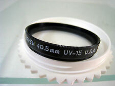 Tiffen 40.5mm UV15 Glass Filter Schneider Filters 405UV15 UV-15