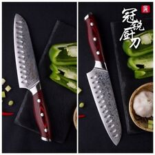 Santoku Knife Japanese Damascus Stainless Steel vg10 Chef Kitchen Knives Sushi