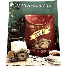 All Cracked Up Volume 3 Jane Crick Tole Painting Book Nautical America Country
