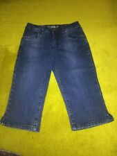 justice jeans capri for girls size 8