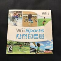 Wii Sports Nintendo WII 2006 Promotional Video Game Pre Owned Complete