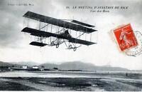 CPA 06 Le Meeting d'Aviation de Nice Van Den Born