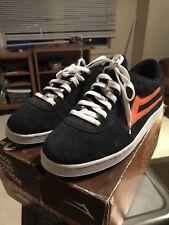 Vintage Skates Shoes OG Lakai Manchester Navy Blue Orange size 12 rare