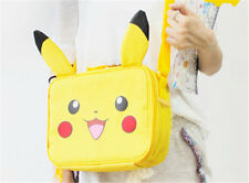 New Pokemon Pikachu Carry Pouch Lunch Food Bag Handbag CASE Pikachu