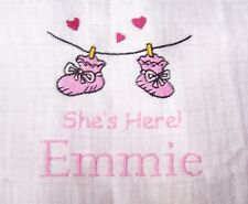 """""""PERSONALIZED EMBROIDERED SHES HERE MUSLIN"""""""