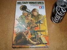 WW#2, U.S. GUN & MORTAR TEAM SET, TAMIYA Miniatures PLASTIC KIT, Scale 1/35