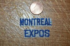 Montreal Expos Wordmark Script Patch Baseball