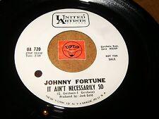 JOHNNY FORTUNE - IT AIN'T NECESSARILY SO - JUAREZ / LISTEN - ROCK JAZZ  POPCORN
