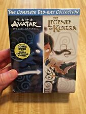 AVATAR THE LAST AIRBENDER+THE LEGEND OF KORRA COMPLETE BLU-RAY COLLECTION NEW
