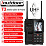 GSM Rugged Cell Phone Waterproof UHF Two-Way Radio Walkie Talkie PTT ioutdoor T2