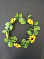 New Adults Womens Mens Sunflower Wreath Party Costume Summer Flower hairband