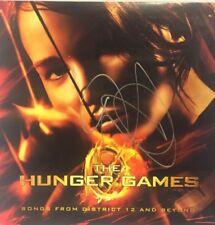 Autographed Hunger Games vinyl signed by Jennifer Lawrence JSA