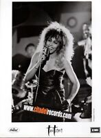 TINA TURNER PAUL COX PHOTO 18cm x 24cm PROMO COMPANY ARCHIVES ORIGINAL