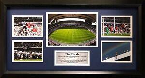 "Tottenham Hotspur ""The Final"" Framed Photos Montage Storyboard"
