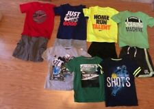 Boys Nike Athletic Clothing Summer Shorts & Shirts Lot Size 6 7