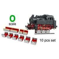 6 X O SCALE ROLLERS W/WHEEL CLEANING ACCESSORIES