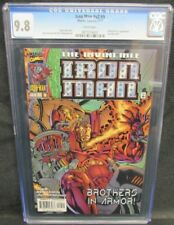 Iron Man #v2 #9 (1997) #341 Fantastic Four Appearance CGC 9.8 White Pages N477