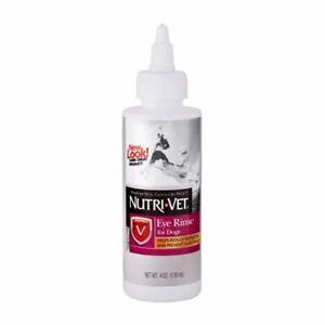 Nutri-Vet Eye Rinse Liquid for Dogs, 4-Ounce