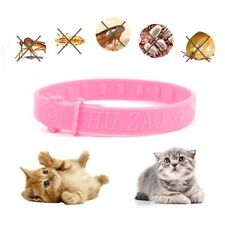 Cat Anti Flea Adjustable Collar Insecticide Quadruple Effect Kitten Remedy