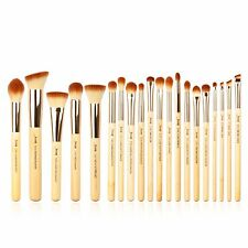 Jessup 20pcs Bamboo Makeup Brush Set Cosmetic Brushes Kits Make up Tools T145 US