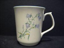 1 Harebell Emerald shape English Fine Bone China Mug Cup By Milton China British