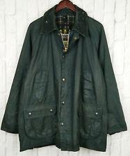 Barbour Bedale Jacket A105 Blue Waxed Cotton Vintage 90s C44/112cm Size 44 Large