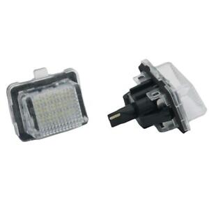 2pcs Canbus 18LED License Plate Light Lamp For Mercedes Benz W204 W221 W212 W216