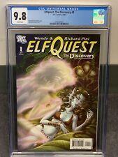 Elfquest The Discovery 1 CGC 9.8 (DC 2006) Richard Wendy Pini, New Slab NM/MT