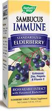 Sambucus Immune Syrup - 4 fl oz Elderberry - Nature's Way