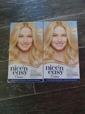 2x Nice 'n Easy Hair Dye Natural Ultra Light Blonde 11