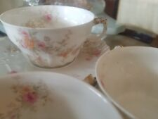 8 Pc 1894/1895 Theodore Haviland Limoges Cup and Saucer Sets