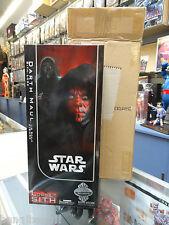 "Star Wars Darth Maul 12"" figure 1/6 Sideshow Exclusive Edition MIB"