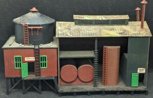 MINIKITS #5828 Molasses Mine Large HO Scale: WAREHOUSE. Office  vintage building