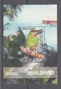 Maldives Bloc 605 Oiseaux - Oiseaux (MNH)