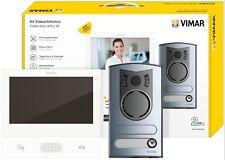 VIMAR ELVOX K40507/M KIT VIDEOCITOFONO COLORI MONOFAM 2FILI WIFI CON APP