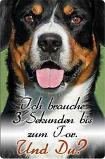 ENTLEBUCHER Sennenhund -A4 Metall Warnschild Alu Hundeschild SCHILD - ELS 05 T14