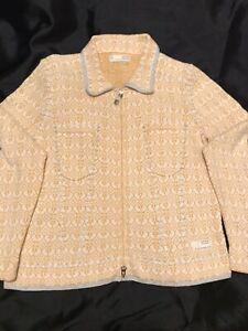 Odd Molly Fair Isle Cardigan Cotton Size 3 Boho Cottagecore