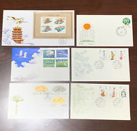 1980's LOT OF CHINA FDC COVERS BEAUTIES, T77, T83, T121 AND MORE