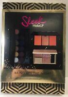 Sleek MakeUp Bring On the Night Kit Gift Set Highlight Blush Eyeshadow 3 Palette