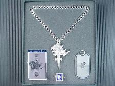Final Fantasy VIII 8 FF8 Lion Heart Ring Dog Tag Necklace PG