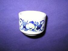 CADIZ Villeroy & Boch EGG CUP porcelain blue yellow 4 available