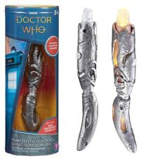IN STOCK DOCTOR WHO 13TH DR SONIC SCREWDRIVER LIGHT & SOUND ELECTRONIC TOY PROP
