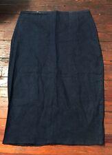 L'Impasse NYC Denim Plus Sz 16 Denim Pencil Skirt Authentic Plus Size Fashion