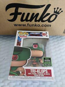 TRI-KLOPS Spring Con 2020 Exclusive Funko POP! Vinyl Figure MOTU Rare Grail Uk