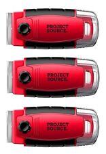 Razor Blade Paint Scraper (3 Pack) w/ Sure Grip Handle, 0316041
